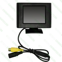 Wholesale Detachable Car Dvd - Car Digital 2.5inch Detachable RCA Video View TFT LCD Monitor For DVD Rearview Parking Sensor Camera