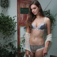 a372b7ee81 ladies without bras NZ - MOXAIN Fashion bra sets female sexy bra without  steel ring and