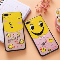 Wholesale Doraemon Case Cover Iphone - 2017 New fashion lovely Cartoon Mouse & Doraemon 3D embossed Soft Gel TPU Phone Cases For iPhone 7 7 Plus Back Cover