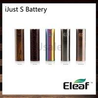 circuito de proteção da bateria venda por atacado-iSmoka Eleaf iJust S Bateria 3000 mah Sistema de Voltagem de Saída Direta Dupla Proteção de Circuito 100% Original