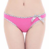 Wholesale Cheap Women S Thongs - 3PCS Cotton Lady Panties Cheap Women G-String Underwear Thongs Ladies Bragas Sexy Leopard Thong