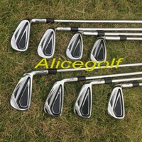 Iron original golf clubs - New golf irons AP2 Forged irons set with original dynamic gold S300 steel shaft golf clubs