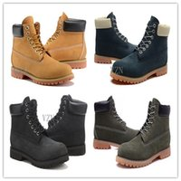 Wholesale Cow Full Grain Leather Shoes - NEW Men Waterproof Ankle Boots Mens Work Hiking Shoes Outdoor Winter Snow Boots