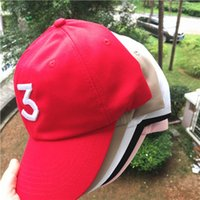 ball red book Australia - Free shipping Chance 3 the rapper caps Streetwear kanye west dad cap letter Baseball Cap coloring Book 6 panel Yeezus hats for men women
