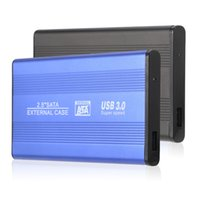 sdd sata toptan satış-Toptan-Superspeed USB 3.0 HDD SSD SATA Harici Alüminyum 2.5