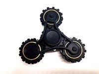 Wholesale Creative R188 Bearing Fidget Toy Tri Gear Chain Hand Spinner Finger Stress Relief Fidget Spinner Four Gear Wheels Spinning Decompression Toy