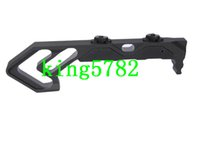 Wholesale Aluminum Industries - NEW Strike Industries Link Curved Foregrip Tactifans CNC Finished Aluminum Grip for M-Lok Tactical Rail HandGuard Airsoft Hunting