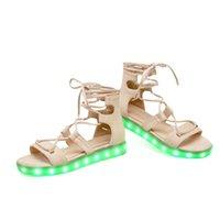 Wholesale Beauty Night Fashion - Summer LED fashion lady sandals, night, belong to your beauty
