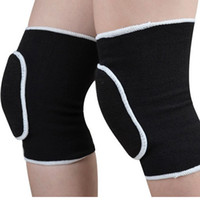 sports volley ball - Volley Ball Knee Pads Thickening Sponge Kneepad Warm Knee Pads Extreme Sports Nee Pads For Football Elasticity Knee Protector