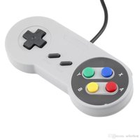 Wholesale 2017 Classic USB Controller PC Controllers Gamepad Joypad Joystick Replacement for Super Nintendo SF for SNES NES Tablet PC LaWindows MAC