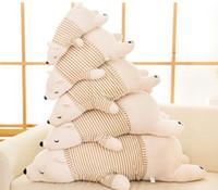 Wholesale Polar Pillow - 55CM 65CM 75CM Polar Bear Doll Penguin Seals Tarepanda Plush Toy Creative Pillow Doll Children's Toys Birthday Gifts