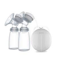 Wholesale Mother Milk Pump - 2016 New Hot Sale Powerful Double Intelligent Microcomputer USB Electric Breast Pump with Milk Bottle for Mothers
