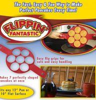 Wholesale Egg Cake Maker - Flippin Fantastic Fast Easy Way to Make Perfect Pancakes Nonstick Pancake Maker Egg Ring Pancake Maker Baking Moulds Mold 300pcs KKA1422