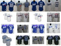 Wholesale Army Navy Game - 2017 MLB All-star Game Male Female Youth Los Angeles Dodgers Clayton Kershaw Corey Seager Flex Cool Baseball Jerseys Grey White Navy blue