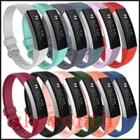 Wholesale ace silicone - Wrist Wearables Silicone Straps Band For Fitbit Alta HR ACE Watch Classic Replacement Silicone Bracelet Straps Band (No Tracker)