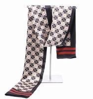 Wholesale Mens Check Scarf - Mens 2 ply silk Scarves MEN SILK SCARF scarf Scarf Neckscarf scarf 15pcs lot #1867