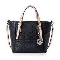 Wholesale Plain Crossbody - new arrival fashion women shoulder bag Delaney pattern female Tote brand small Handbag With Crossbody Strap Colors SKUGUBAG