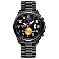 Wholesale King G - Men 's Designer Daydate Wristwatch Luxury Black G King' S Planet Ocean 007 Watch Single Calendar Tourbillon Watches Alloy Strap