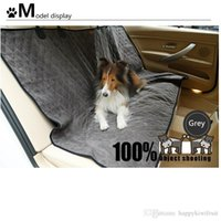 Wholesale Waterproof Nylon Car Seat Covers - Super Soft Large Dog car Beds -Double Side Winter and Summer Waterproof Protective Rear Car Seat - Dog Pet seat waterproof Cover-