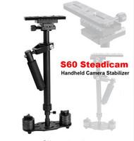 Wholesale Video Compact - Steadicam s60 handheld camera stabilizer video steady cam DSLR steadycam estabilizador de cameras minicam Compact Camcorder DV