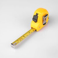Wholesale Stainless Steel Tape Measures - 300CM 10ft Feet Inch Auto Lock Stainless Steel Tape Measure Tapeline Woodworking Retractable Home Supplies Tapeline