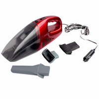 Wholesale high power vacuum cleaner portable - Wholesale- High Power Portable car vacuum cleaner wet and dry dual use with power 60W 12V 3.3 meters of cable, superabsorb car waste