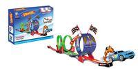 Wholesale Wholesale Slot Car Sets - Pull Back Car with Track set car set track set race car #277287