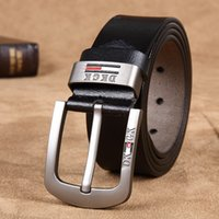 Wholesale Fashion Leather Pants For Men - 2016 New PU Leather business mens belts luxury Designer brand Belts For Men High quality Jeans pants belts SIZE 110CM