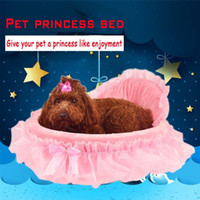 Wholesale Wholesale Princess Beds - New Design Cute Dog Beds All Season PP Cotton Sponge Materials Breathable Princess Dog Bed For Small Medium Dog Kennel
