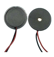 Wholesale Buzzer Led - Wholesale- F07060 20Pcs 1710 Dia 17mm Passive Piezo Buzzer with Lead Wire Buzzerphone Alarm