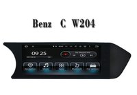 Wholesale Mercedes C Car Stereo - Android 7.1 Car DVD Player GPS Navigation for Mercedes Benz C Class W204 2012 2013 with Bluetooh SD USB AUX Video Stereo
