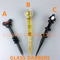 carved tools - Dabber Tool for Oil and Wax glass oil rigs Dab Stick Carving tool for glass bong water pipes quartz banger nails
