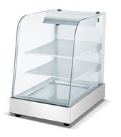 escaparate de calentamiento al por mayor-Calentador de alimentos vitrina 110V