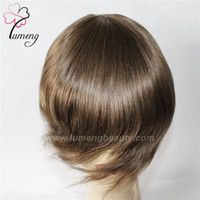 Wholesale China Lace Blonde Wigs - Virgin Remy Human Hair Sell China Wigs Toupee Handmade Human Hair Toupee for Women