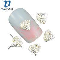 Diamond nails art supply price comparison buy cheapest diamond tn1301 tn1310 acrylic as shown wholesale 10pcs 3d diamond bows pearl nail art decorations prinsesfo Image collections