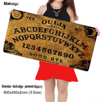Wholesale Dota Keyboard - Ouija Board Mat Large MousePad Non-Skid Rubber Pad Mouse Mat Desk Pad Keyboard Pad for Dota CS Go League of Legends