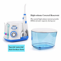 Wholesale Oral Care Water - 5 Tips 800ml Low Noise Oral Irrigator Water Flosser Dental Floss Jet Dental Spa Teeth Cleaning Tooth Cleaner Hygiene Oral Care