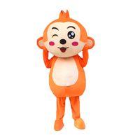 Wholesale Monkey Mascot Costume Adult - Monkey Mascot Costumes Cartoon Character Adult Sz 100% Real Picture22