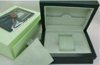 caixa de relógio original interior venda por atacado-Top Mens Luxo Para ROLEX Watch Box Caixa de Relógio de Pulso Dos Homens Das Mulheres Dos Homens Externos Internos Originais