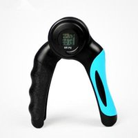 Electronic Hand Grip Count Timing Professionale Muscoli di dito Equipaggiamento fitness Home Exercise Device Regolabile