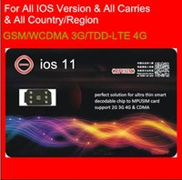 Wholesale Free DHL the NEWEST USIM G Unlock all IOS for US T mobile Sprint Fido DoCoMo all iPhone carriers LTE4G G GPPLTE RSIM11