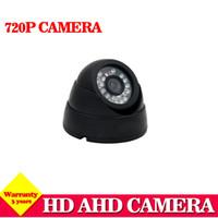 système de sécurité extérieur de dôme achat en gros de-NINI AHD CCTV Système de Sécurité Caméra AHD 2000TVL 1.0MP 2.0mp objectif intérieur Dôme Extérieur caméra 3.6mm lentille IR 720P
