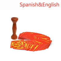 Wholesale Play Spanish Games - Wholesale- English Spanish jungle speed board game, good package card game play with friend party game table game spot