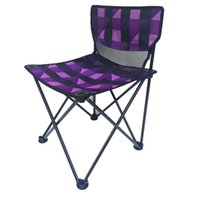 Wholesale Portable Hiking Chair - 12*12*65Cm Mini Folding Chairs Portable Fishing Chair Camp Chairs Folding For Drawing Fishing Hiking Party Green Grid Floral Pattern