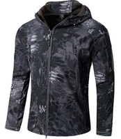 Wholesale hunting camping waterproof jacket for sale - Shanghai Story TAD V4 Men Outdoor Hunting Camping Waterproof Windproof Softshell Jacket Rocketsports fleece Military Tactical Jacket