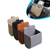Venda Por Atacado Hot Sale Universal Car Outlet Celular Universal Ceel cartão sundries Holder caso de carro de ar Vent para o iphone para samsung