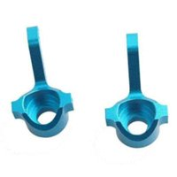 RC HuanQi M0456 Alum Blue Front Knuckle Arm Upright 1:16 731 732 733 734 Buggy arm cell