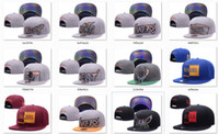 Wholesale Gray Black Snapbacks - New Caps Basketball Snapback Hats Gray Color Cap All Color Team Hats Mix Match Order All Caps in stock Top Quality Hat Wholesale