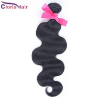 3.5Oz / pcs Peruvian Body Wave Hair Weave 1 Bundle Bouncy Wavy Peruvian Remi Extensions de cheveux humains Vente en gros 10