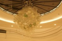 Grande <b>Murano Glass Bubble Chandelier</b> Entrega rápida Turkish Style 100% Murano Blown Glass Crystal Ceiling Lights